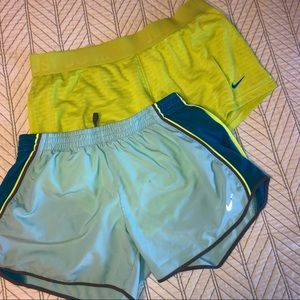 Nike workout shorts (2 pairs)